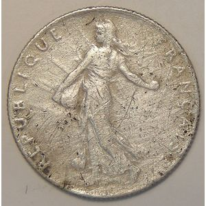 France, Semeuse, 50 Centimes 1911, TB, KM# 854