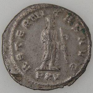 GALLIENUS, Antoninien, R/ AETERNITAS AVG, TTB+/SUP