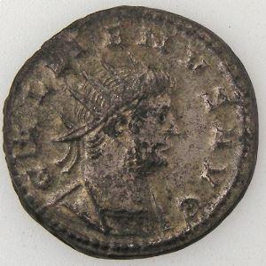 GALLIENUS, Antoninien, R/ FIDES AVG, TTB+/SUP
