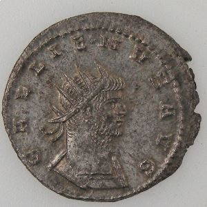 GALLIENUS, Antoninien, R/ MARS VICTOR, TTB+/SUP