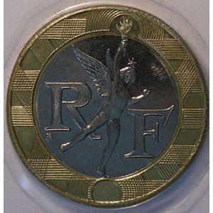 Génie de la Bastille, 10 Francs 1994 Abeille SPL+, Gadoury: 827