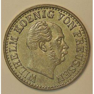 Germany, Preussen, 1 Silbergroschen 1868 C, TTB+/SUP, KM# 484
