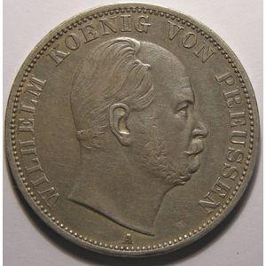 Germany, Preussen, Thaler 1867 A, TTB/TTB+, J: 96