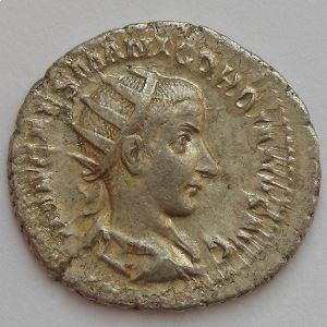 GORDIEN III, GORDIANUS III, Antoninien, CONCORDIA AVG, TB+/TTB