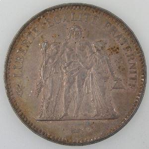 Hercule, 50 Francs 1974 avers de la 20 francs, TTB+/SUP, Gadoury: 882a
