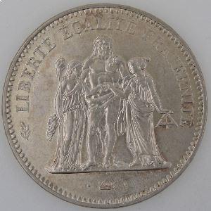 Hercule, 50 Francs 1974 avers de la 20 francs, TTB+/ SUP, Gadoury: 882a
