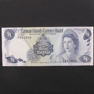Iles caimans, 1 Dollar ND (1971), XF-UNC