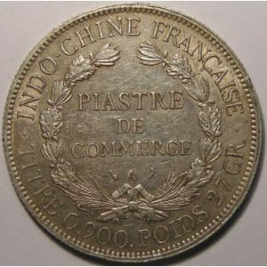 Indochine, Indochina, 1 Piastre 1903, TTB, Lecompte: 286