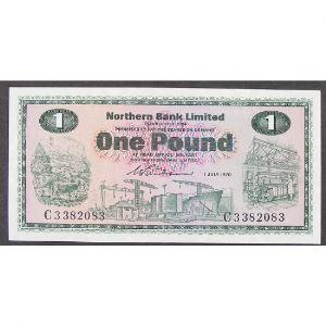 Irlande du Nord, 1 Pound 1.7.1970, UNC
