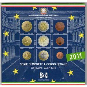 Italy, Coffret BU 2011
