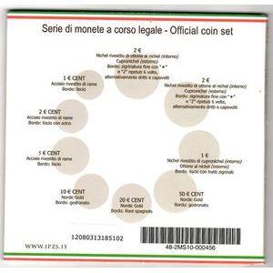 Italy, Coffret BU 2012