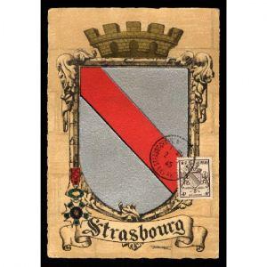 Journée du Timbre 1945 - STRASBOURG