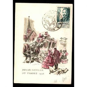 Journée du Timbre 1948 - ORAN
