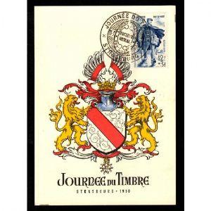 Journée du Timbre 1950- STRASBOURG