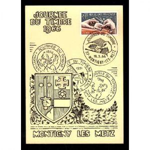 Journée du Timbre 1966 - MONTIGNY LES METZ