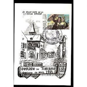 Journée du Timbre 1981 - MONTIGNY LES METZ - Le Montigny de la Belle Epoque