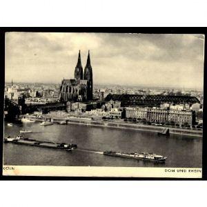 KÖLN  Dom und Rhein