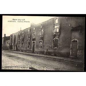 LUNEVILLE - Faubourg d'Einville - Guerre 1914-1915