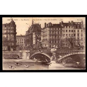 LYON - Les Mouettes - Pont Lafayette des Cordeliers