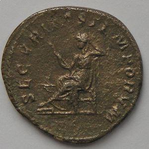 Macrin, Macrinus, Antoninien, SECVRITAS TEMPORVM, TB/TTB
