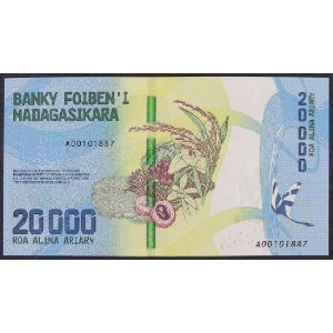 Madagascar, 20000 Ariary ND (2017), UNC