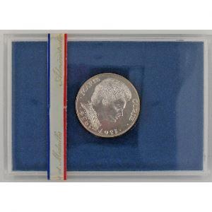 Marie Curie, 100 Francs 1984, BU argent , KM#955