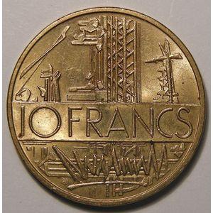 Mathieu, 10 Francs 1985 tranche B TTB+/SUP, Gad: 814