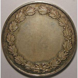 Médaille Association Normande pour le progrès de l'Agriculture de l'Industrie et des Arts, argent 42mm, 33.27 Grs