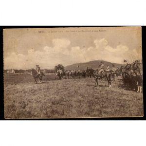 METZ - 14 Juillet 1919 - Le Général Maud'Huy sur le Terrain et son Escorte