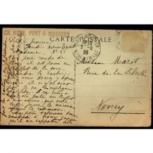 METZ - 14 Juillet 1919 - M. Mirman et le Général Maud'Huy sur le Terrain de la Revue