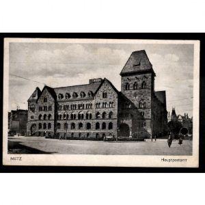 METZ - Bureau de poste principal - Hauptpostamt