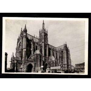 METZ - La Cathédrale  - Façade latérale Sud Est - Vue d'Ensemble