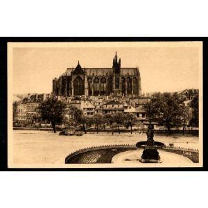 METZ - La Cathédrale  - Façade latérale