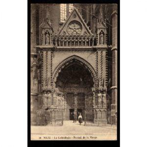 Metz - La Cathédrale - Portail de la Vierge
