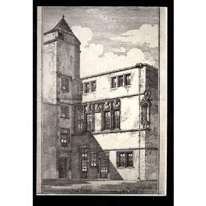 METZ - La Maison des Têtes 1529 - Carte double