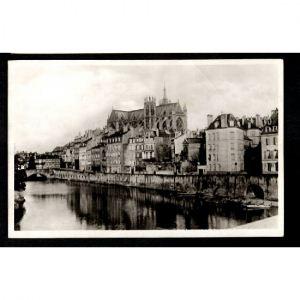 METZ - La Moselle au Pont des Roches