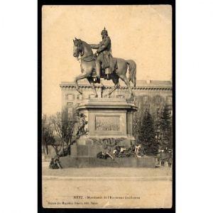 METZ - Monument de l'Empereur Guillaume