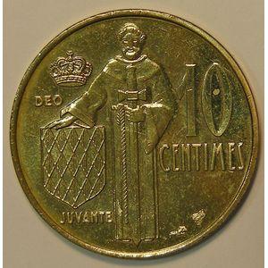 Monaco, 10 Centimes 1995, SPL, KM# 142