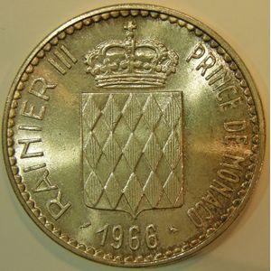 Monaco, 10 Francs 1966, SUP+, KM# 146