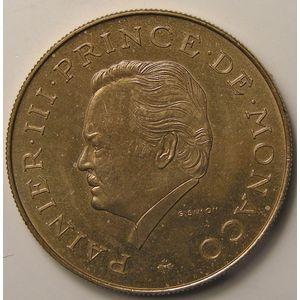 Monaco , 10 Francs 1975, SPL+, KM 157