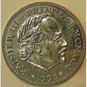 Monaco, 5 Francs 1995, SPL, KM# 150