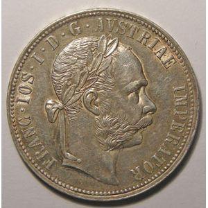 Monnaie étrangère, Autriche, Austria, 1 Florin 1884, SUP, KM# 2222