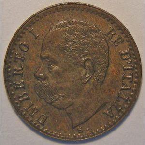 Monnaie étrangère, Italie, Italy, 1 Centesimo 1895 R, SUP, KM# 29