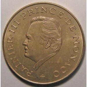 Monnaie étrangère, Monaco, 10 Francs 1975, SPL, Gad# 157