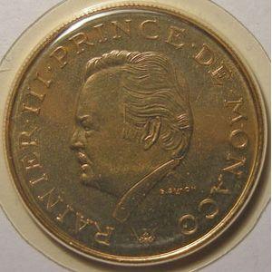 Monnaie étrangère, Monaco, 10 Francs 1982 FDC, Gad# 157