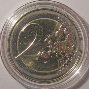 Monnaie étrangère, Monaco, 2 Euro 2011 Commemorative +boite d'origine et certificat