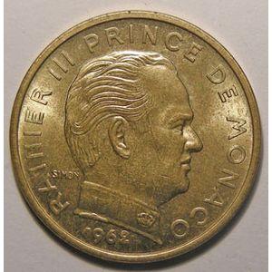 Monnaie étrangère, Monaco, 50 Centimes 1962, SUP+, Gad# 148