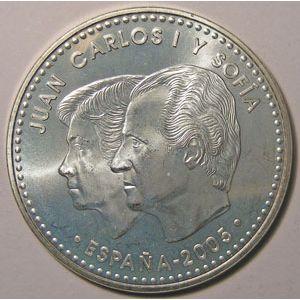 Monnaie Euro, Espagne, Spain, Juan Carlos I, 12 Euro 2005