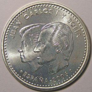 Monnaie Euro, Espagne, Spain, Juan Carlos I, 12 Euro 2006