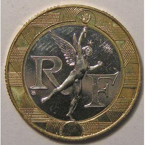 Monnaie française, Génie de la Bastille, 10 Francs 1998, SPL+